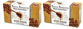 2x Bars Venezia Soapworks Pure Vegetable Soap Honey Almond Triple Refine... - $9.41