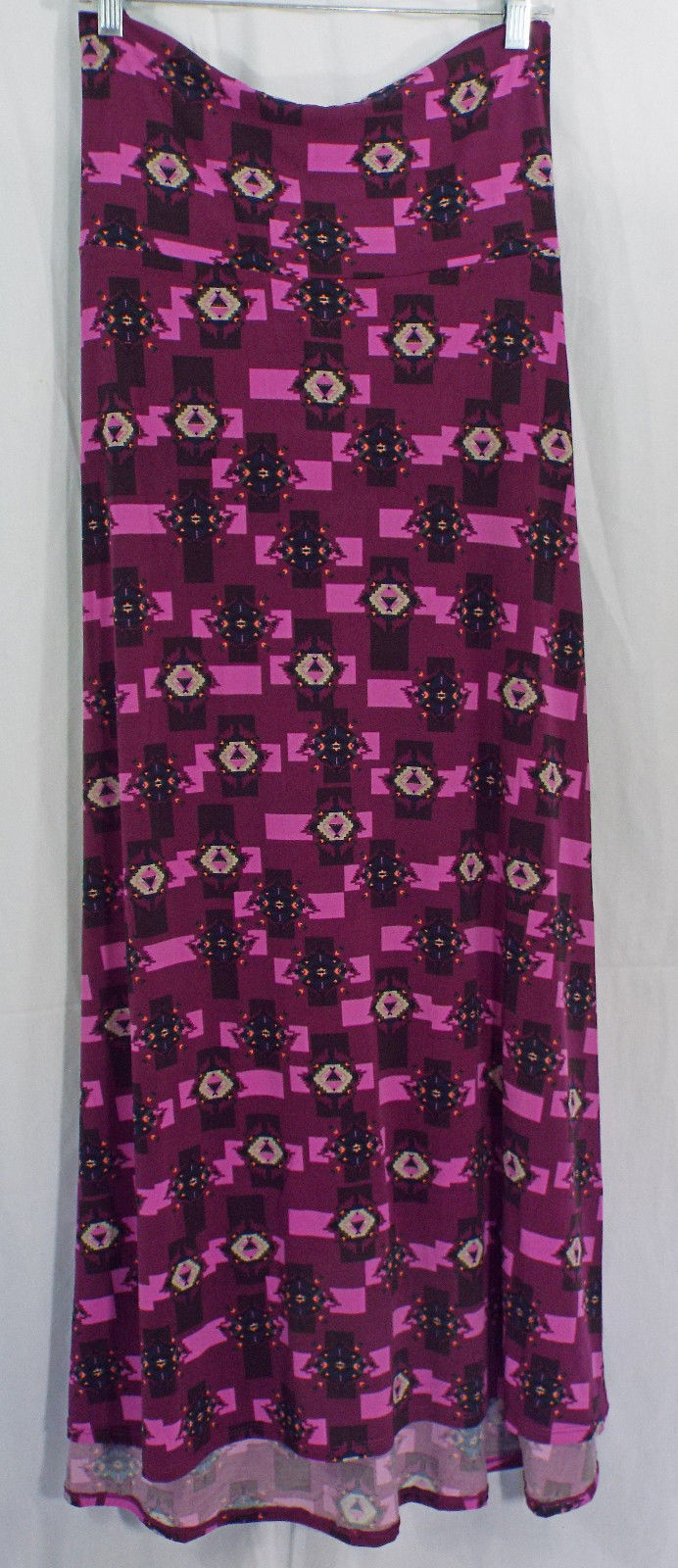 0c87492a4a Women's LuLaRoe Lt Dark Purple Abstract Maxi and 40 similar items