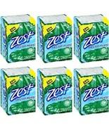 Zest Bar Soap for Men 4.0 oz  6 x 2/Pk. Fresh Aloe. New. Free Shipping - $36.87