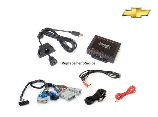 Bluetooth handsfree phone car kit +iPod/Aux/USB Interface. Many 2003+ GM radios image 2