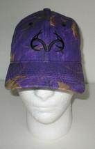 Realtree Hat Cap Purple Black Brown Camo Leaves Adjustable - $13.96