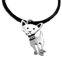 TAXCO .925 STERLING SILVER CHIHUAHUA DOG PENDANT | Mexican Jewelry - $24.95