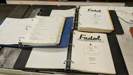 FADAL TRAINING, USER AND MAINTENANCE MANUALS - $123.75