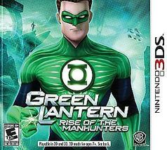 Green Lantern: Rise of the Manhunters (Nintendo 3DS, 2011) Video Game - $15.88