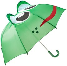 Western Chief Kids Character Umbrella Fritz the Frog One Size - $18.37