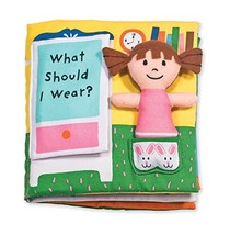 Melissa & Doug Soft Activity Baby Book - What Should I Wear? - $14.62