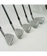 Titleist AP1 Men's left hand irons Graphite R-flex shaft 6 - PW - $264.00