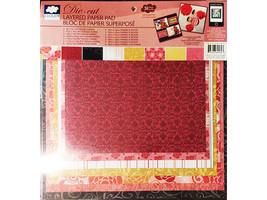 Cloud 9 Design Die Cut Layered Paper Pad #69460