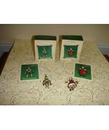 Hallmark Miniature 2002 Jingle Belle & 2004 Prince Charming Ornaments - $19.99