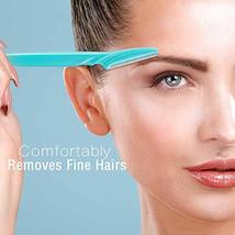 Boao 24 Pieces Eyebrow Razor Facial Razor Shaper Trimmer with Precision Cover image 4