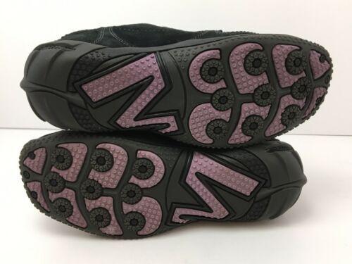 Merrell Womens US 6.5 Shoes Circuit Grid Comfort Black Suede Leather EU37 EUC image 8