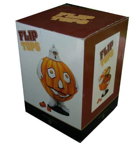 Primary image for Department 56 Flip Tops - Halloween Pumpkin Ghost Candy Bowl