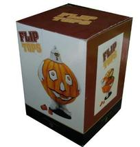 Department 56 Flip Tops - Halloween Pumpkin Ghost Candy Bowl - $34.40