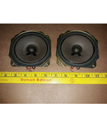 20HH87 PAIR OF SONY SPEAKERS, 1-504-731-11, 3.2 OHM, SOUND GREAT, VERY G... - $11.78