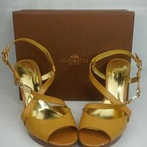 Coach Wendelle Classic Women's Shoe, Color Ginger, Size 9 M - A6022 - $69.30