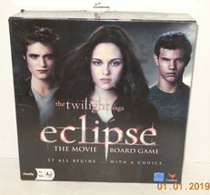 2009 Cardinal Twilight Saga Eclipse The Movie Board Game Family 100% Complete - $9.50