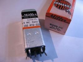 Miller 6208-PC Coil Tunable Core Transformer Ratio Detector 4.5MHz - NOS... - $11.39