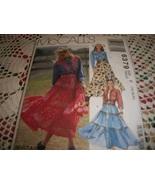 McCall's 6379 Misses' Shirt, Skirt & Belt Pattern  - $12.00