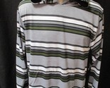 SWISS CROSS NY  Mens Striped Pullover w/attached Hood-Multi-Colors-Small-NWT
