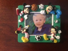 disney mini picture frame 3 x 2 1/2 inch Mickey Mouse , Minnie Mouse magnet - $9.99