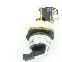 ALLEN BRADLEY 800T-H2 SELECTOR SWITCH W/ 800T-XA SER. D CONTACTOR image 3
