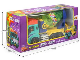 Daesung Toys Melody Concrete Cement Mixer Car Truck Vehicle Construction Toy image 3