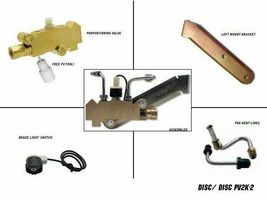 "Disc Drum Prop Valve / Combination Valve Kit For Left Mount, Lines 9/16"" & 1/2"" image 5"