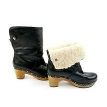 UGG Lynnea Shearling Boots Shoes Black Womens Size 8 | 2312 - $46.26