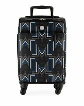 MCM Gunta Coated Canvas Monogram Trolley Rolling Carry On Suitcase - $1,023.99
