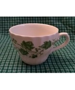 Churchill China Teacup Verdigris Ivy Leaf Pattern  - $10.88