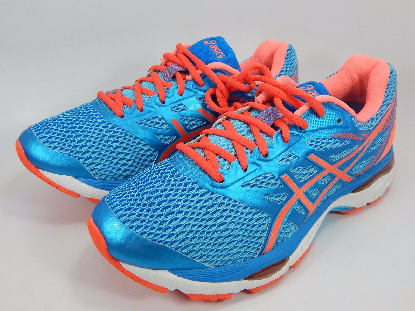 Asics Gel Cumulus 18 Women's Running Shoes Size US 7.5 D WIDE EU 39 Blue T6C9N