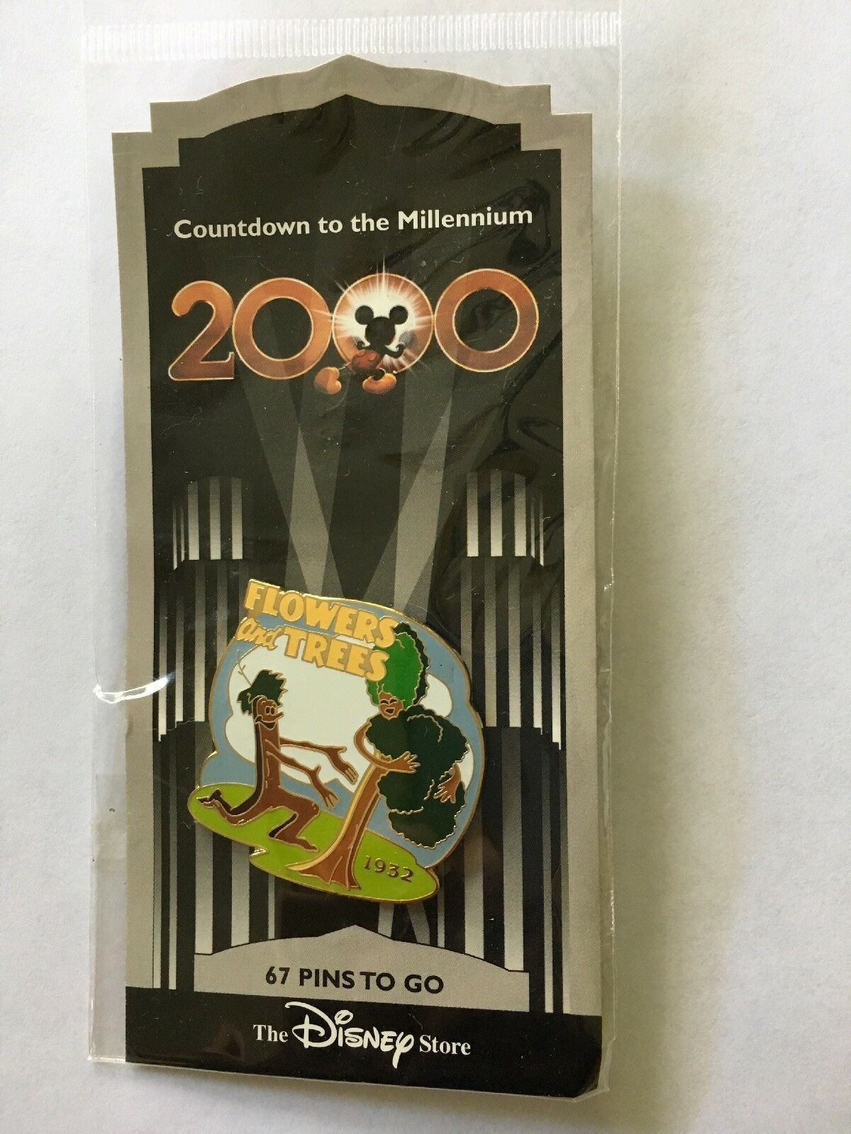 Primary image for Disney PIN Countdown to the Millennium Pin #68 Flowers and Trees NEW