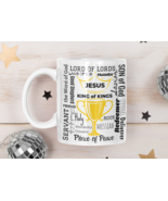 Jesus King Of Kings Trophy Mug 11oz | Gifts For Her | Gifts For Him - $15.50