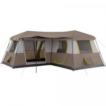 Camping Tent Family 12-Person 3-Room Canopie Waterproof Military Hiking ... - $295.43