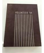 1964 UTMB Yearbook Volunteer Vol.30 Martin Tennessee UTM Skyhawks  - $70.11