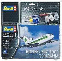 Revell 1/144 Boeing 727-100 Germania Model Kit + Paint & Glue - $18.00