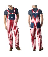 New Liberty Men's American Flag Red White Blue Cotton Duck 4th of July O... - $39.99