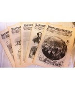 5 Issues January 3 10 17 24 31 1863 Harpers Weekly ReIssued Historic New... - $19.99