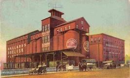Ballard Co Obelisk Flour Mill Louisville Kentucky 1907 advertising postcard - $9.85