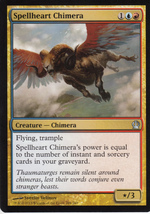 Magic The Gathering Spellheart Chimera Card #204/249 - $0.99