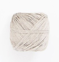 400 ft Ball Spool of NATURAL White HEMP 20# test weight approx .5-1mm cord - $6.72