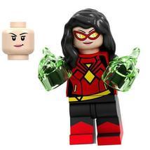 Spider-Woman (Jessica Drew) Marvel Comics Custom Minifigures Building Toys Gifts - $2.99