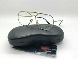 Ray-Ban ORX6389 2946 GOLD/BLACK Eyeglasses Frames 55-19-140MM  - $87.27