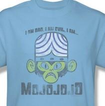 Mojojojo I am Bad Evil T-shirt Powerpuff Girls 100% cotton graphic tee cn241 image 1