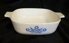 Vintage Corning Ware Cornflower Blue Casserole Dish 1 Qt. - $10.35