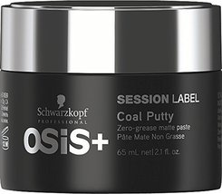 Schwarzkopf Osis+ Session Label Coal Putty Matte Paste 65g - $10.88
