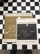 Pete Seeger AMERICAN INDUSTRIAL BALLADS w/Insert Folkways Records FH 525... - $10.40