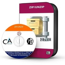 Zip / Winzip/Decomprimere RAR File Compressione Utilità Software 2019 - CD - $9.28