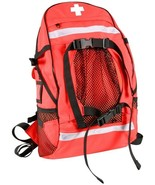 Red First Aid Red Cross EMT EMS Trauma Backpack Medical Equipment Bag - $74.99