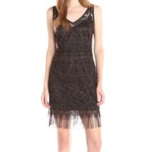 Jessica Simpson NEW Black Womens Size 2 Metallic Lace Sheath Dress $128 - £34.84 GBP